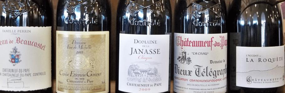 Chateauneuf du Pape Wines