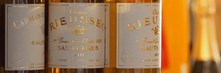 Sauternes Wines