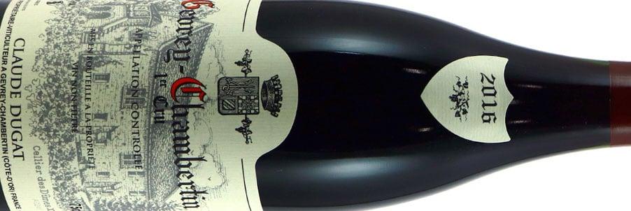Gevrey Chambertin Wines