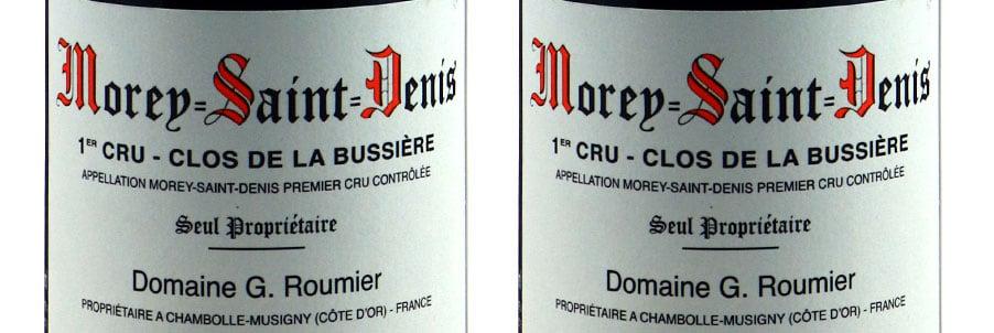 Morey Saint Denis Wines