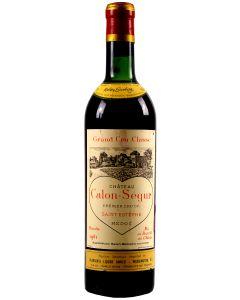 1961 calon segur Bordeaux Red