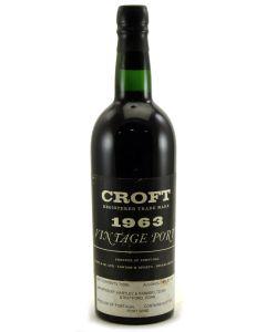 1963 Croft Vintage Port