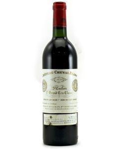 1978 cheval blanc Bordeaux Red
