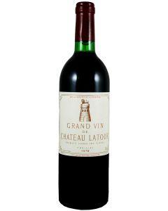 1978 latour Bordeaux Red