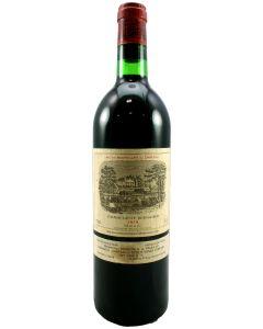 1979 lafite rothschild Bordeaux Red