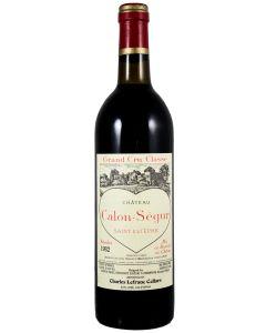 1982 calon segur Bordeaux Red