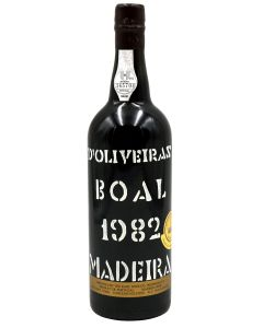 1982 d'olivera boal madeira Madeira
