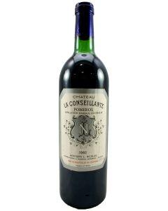 1982 la conseillante Bordeaux Red