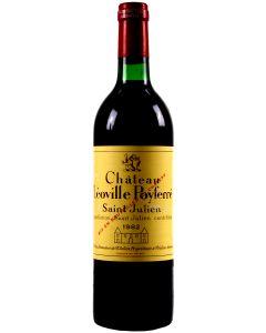 1982 leoville poyferre Bordeaux Red