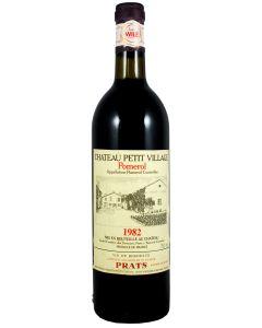 1982 petit village Bordeaux Red
