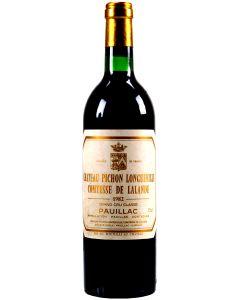 1982 pichon lalande Bordeaux Red