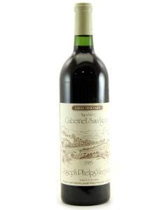 1985 joseph phelps eisele vineyard napa California Red
