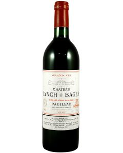 1985 lynch bages Bordeaux Red