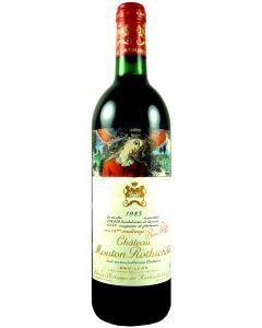1985 mouton rothschild Bordeaux Red