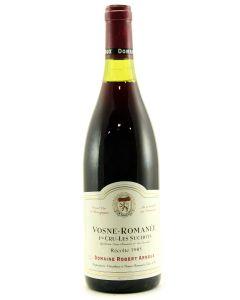 1985 robert arnoux vosne romanee les suchots Burgundy Red