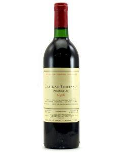 1986 trotanoy Bordeaux Red