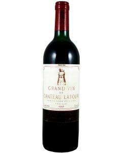 1987 latour Bordeaux Red