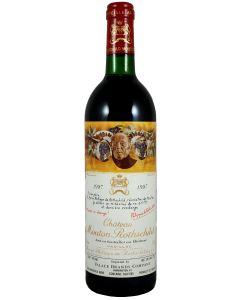1987 mouton rothschild Bordeaux Red