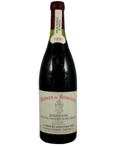 1988 beaucastel chateauneuf du pape Chateauneuf du Pape