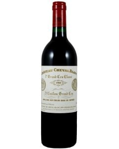 1988 cheval blanc Bordeaux Red