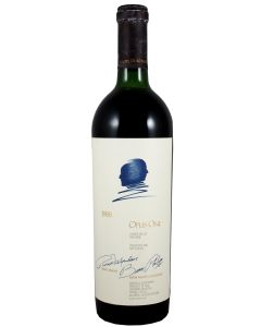 1988 opus one California Red