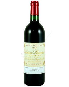 1989 branaire ducru Bordeaux Red