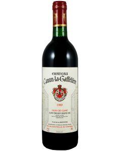 1989 canon la gaffeliere Bordeaux Red
