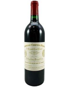 1989 cheval blanc Bordeaux Red