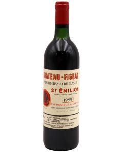 1989 figeac Bordeaux Red