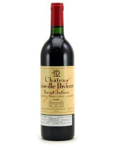 1989 leoville poyferre Bordeaux Red