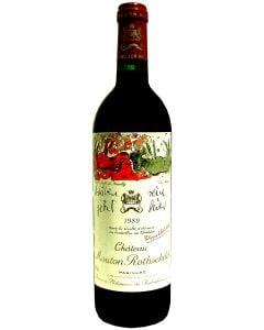 1989 mouton rothschild Bordeaux Red