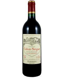 1990 calon segur Bordeaux Red