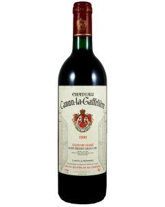 1990 canon la gaffeliere Bordeaux Red
