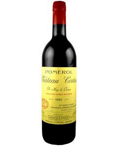 1990 certan de may Bordeaux Red
