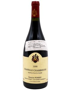 1990 domaine ponsot chapelle chambertin Burgundy Red