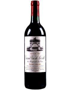 1990 leoville las cases Bordeaux Red