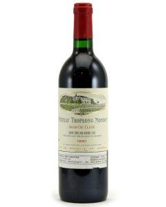 1990 troplong mondot Bordeaux Red