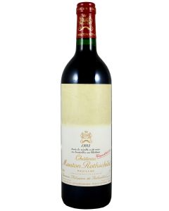 1993 mouton rothschild Bordeaux Red