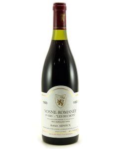 1993 robert arnoux vosne romanee les suchots Burgundy Red