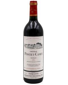1994 pontet canet Bordeaux Red