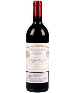 1995 cheval blanc Bordeaux Red