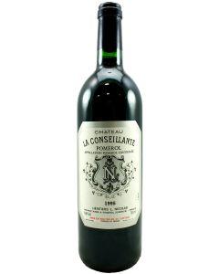 1995 la conseillante Bordeaux Red