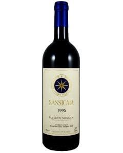 1995 sassicaia Super Tuscans/IGT