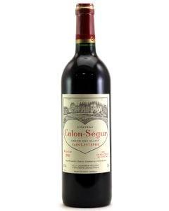 1996 calon segur Bordeaux Red