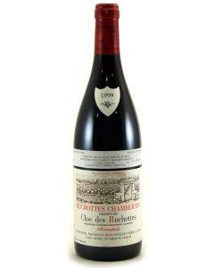 1999 a rousseau ruchottes chamb clos des ruchottes Burgundy Red