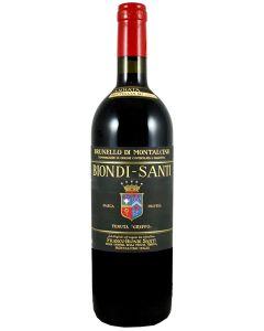 1999 biondi santi brunello di montalcino riserva Brunello