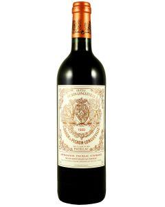 1999 pichon baron Bordeaux Red