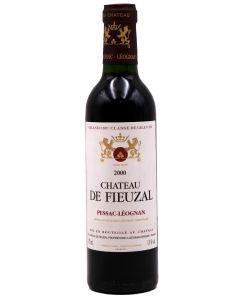 2000 de fieuzal Bordeaux Red