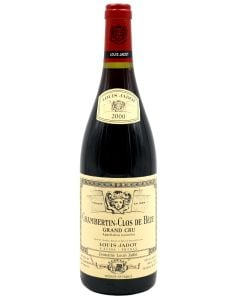 2000 louis jadot chambertin clos de beze Burgundy Red