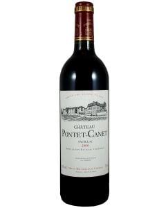 2000 pontet canet Bordeaux Red
